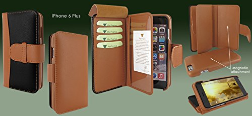 Piel Frama 717 Two-Tone WalletMagnum Leather Case for Apple iPhone 6 Plus / 6S Plus by Piel Frama (Image #5)