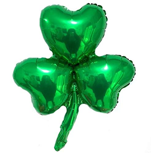 Utini 50pcs Green Clover Beer Cup Air Balloons to Celebration Oktoberfest Festival Supplies Balon Happy St Patrick's Day Decor Globos - (Color: Mint Green)