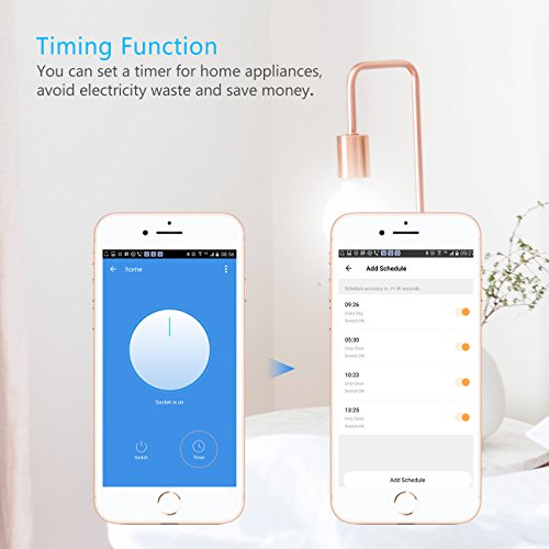 prise connect e 2000w 10a prise intelligente wifi usb port compatible contr le vocale timer. Black Bedroom Furniture Sets. Home Design Ideas