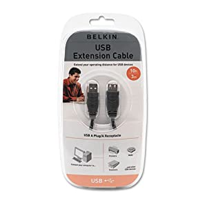 Belkin Pro Series High-Speed USB 2.0 Extension Cable, 10 ft. from BELKIN COMPONENTS