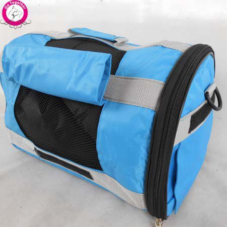 bluee S bluee S WeMore(TM) Portable Breathable Pet Cat Carrier Durable Oxford Dog Carry Tote Bag Multi Function Travel Backpack Bag