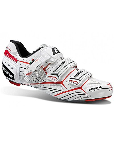 Gaerne Carbon Speedplay G.Platinum Scarpe Road Ciclismo, White - 44