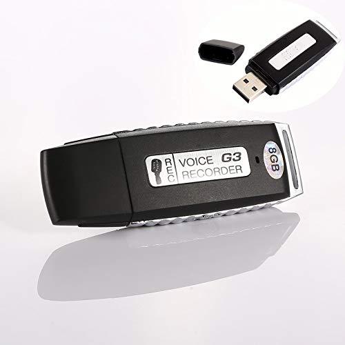 Disco U 16GB art/ículo electr/ónico RONSHIN Mini 8 16GB USB Grabaci/ón Pluma Disco Flash Unidad Disco de Audio Digital Grabadora de Voz 70 Horas Port/átil Mini Grabaci/ón Dict/áfono Grabaci/ón