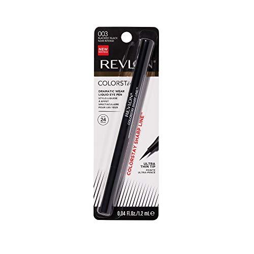 Revlon ColorStay Liquid Eye Pen, Classic, Blackest Black - Packaging May Vary