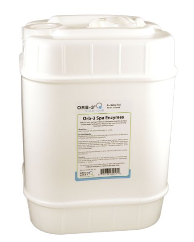 Orb-3 Y240-000-5G Spa Enzymes for Maintenance, 5-Gallon Pail by Orb-3