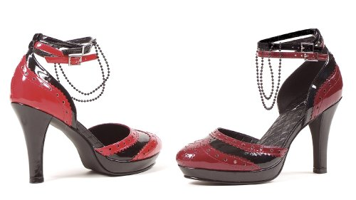 Ellie Shoes Women's 414-Vampyress, Burgundy, 9 M US ()