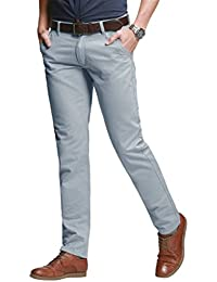 Men's Slim Tapered Stretchy Casual Pant