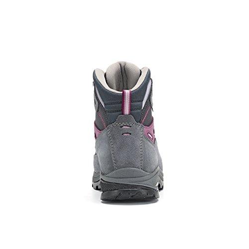 Finder Women's Hiking Asolo grapeade gris Multicolore gunmetal Rise Shoes ml Gv acier High A5qx1wq