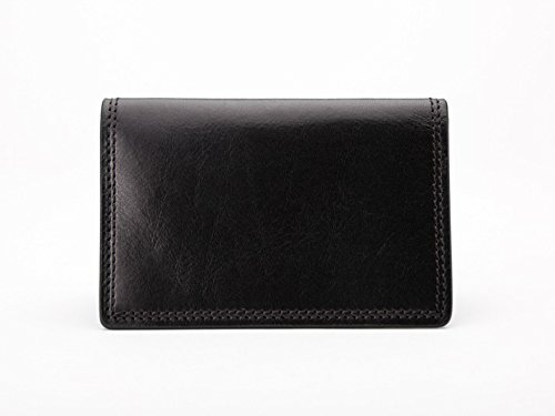 Bosca Men's Dolce Collection - Calling Card Case (Signature Medium Wallet)