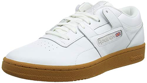 Blanco Para Mu Gimnasia 0 skull Grey Hombre De Workout white gum Club Zapatillas Reebok qxZ8F6w