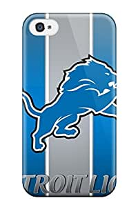 Brand New 4/4s Defender Case For Iphone (detroit Lions )