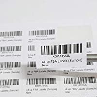 FBA 44-Up Label Stickers - 100 Sheets, 4400 Labels