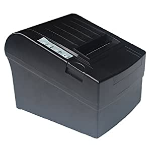 Amazon.com: USB Impresora térmica de recibos Auto Cutter POS ...