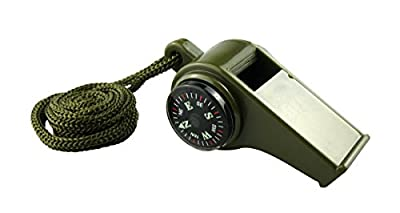 SE CCH3-1 3-in-1 Compass Whistle (Green)