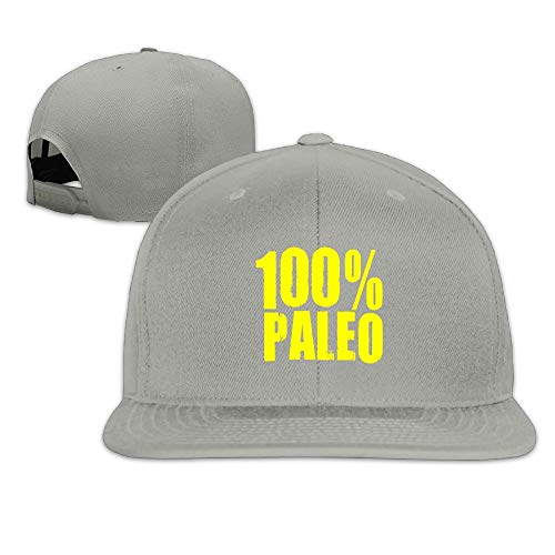Nordic Runes Paleo Diet Cool Snapback Hats for Men Flat Bill Baseball Caps for Women]()