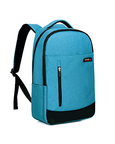 Generic Outdoor Leisure and Travel Waterproof Laptop Backpack (Lake Blue) by Generic