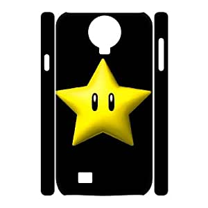 Classic Case Super Mario Bro pattern design For Samsung Galaxy S4 I9500(3D) Phone Case