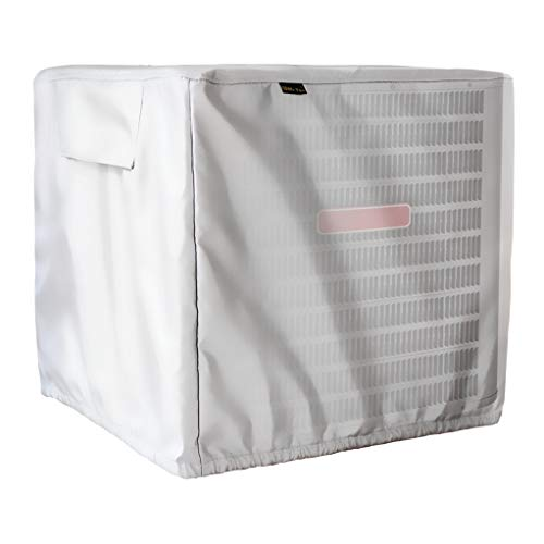 Mr.You Square Air Conditioner Cover Heavy Duty Waterproof Du