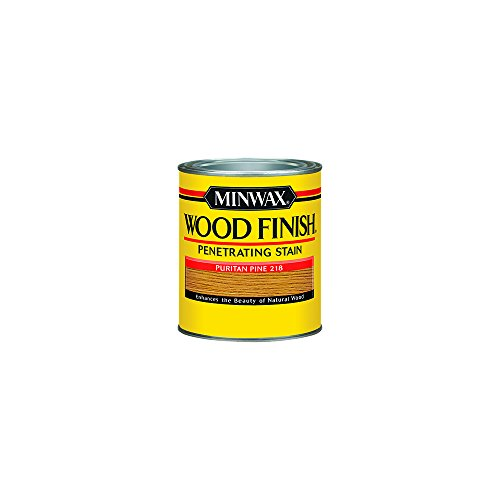 Minwax 221804444 Wood Finish Penetrating Interior Wood Stain, 1/2 pint, Puritan Pine (Best Varnish For Pine)