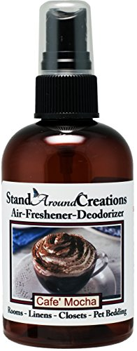 Concentrated Spray For Room/Linen/Room Deodorizer/Air Freshener - 4 fl oz - Scent : Cafe Mocha- Fresh brewed coffee, chocolate syrup, creamy vanilla w/marshmallows.