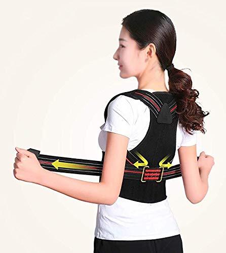 JCM Accessories for Back Stretcher Hunchback Correction Correction Belt Anti-Humpback Correction Artifact ZJ (Size : XXL)