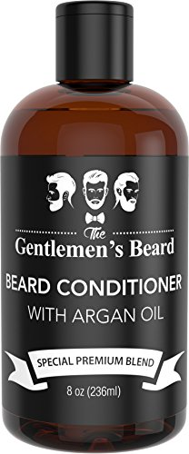 Beard Conditioner & Softener with Argan Oil for Men – Essential Oils Aid Growth and Skin Health – Best Beard Conditioner for All Types of Beards – Handcrafted in The USA by The Gentlemen's Beard