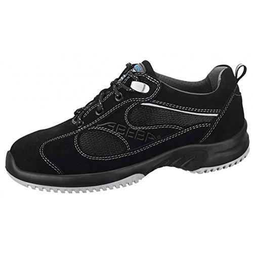 """Abeba 31701-48 tamaño 48"""" zapato seguridad ESD-uni6 pulgada bajo - negro"""