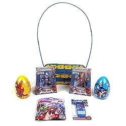 Iron Man Action Figure Avengers Civil War Activity 7pc Bundle Gift Set