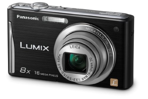 Panasonic DMC-FH25K 16.1MP Digital Camera with 8x Wide Angle Image Stabilized Zoom and 2.7 inch LCD (Black) (OLD MODEL) (Wide Image Stabilized Angle)
