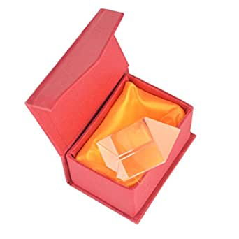 50 mm Optical Glass Equilateral Triangular Prism for Teaching Light Spectrum Physics and Photo Photography Prism