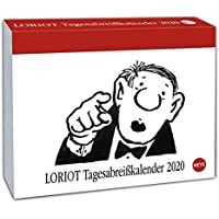 Loriot Tagesabreißkalender 2020 11x14cm