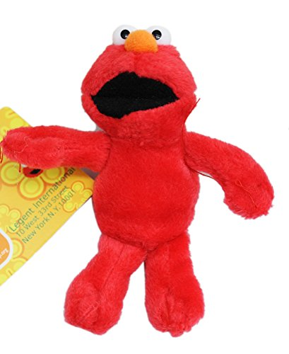 Sesame Street's Elmo Miniature Kids Plush Toy With Secret Pocket (4in)