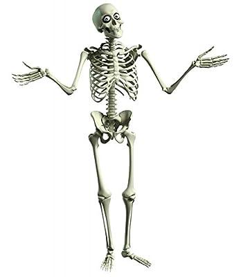 Wallmonkeys 3D Cartoon Skeleton Wall Decal Peel and Stick Graphic WM258076