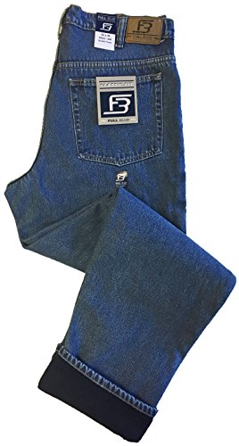 Lined 5 Pocket Jeans - 4