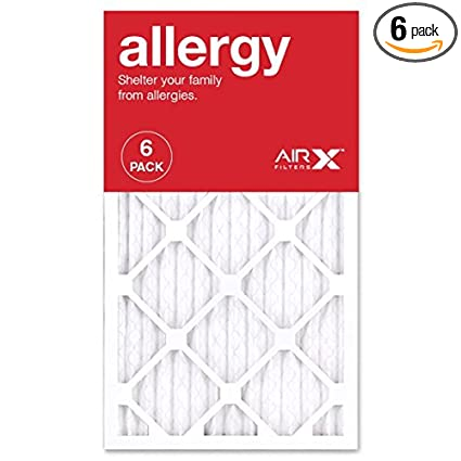airx allergy 14x24x1 merv 11 pleated air filter - made in the usa ...