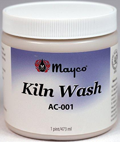 Kiln Wash AC-001, Ready To Use Liquid, Pint Jar, Made In USA