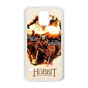 wugdiy Personalized Durable Case Cover for SamSung Galaxy S5 I9600 with Brand New Design The Hobbit
