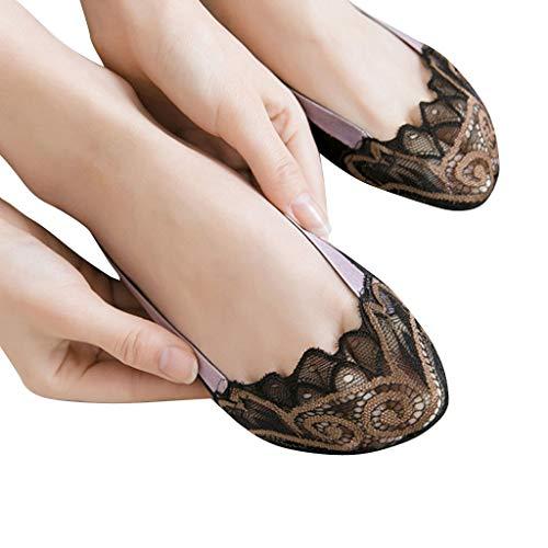 Amazon.com: Masun Fashion - Calcetines invisibles de corte ...