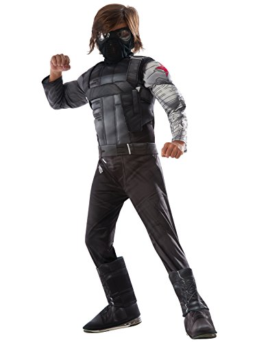 Marvel's Captain America: Civil War Winter Soldier Deluxe Muscle Chest Child Costume