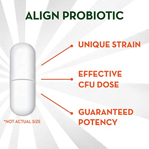 Align Probiotics Supplement for Digestive Health in Adult Men and Women, 63 Probiotic Capsules - Bifidobacterium 35624 - #1 Doctor Recommended Probiotics Brand by Align (Image #7)