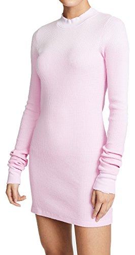 Cotton Citizen Monaco Long Sleeve Mini Dress In Light Pink Mist, XS by Cotton Citizen