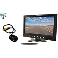 Tadibrothers 5 Inch Monitor and a Wireless 170 Degree Bumper Backup Camera (RV or Car Backup System)