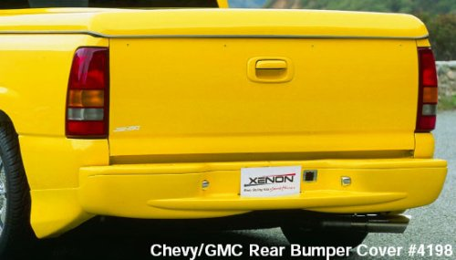 Xenon Rear Bumper Cover - 7