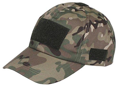 Gorra de uso, con velcro, color HDT-camo, tamaño medium Operation Camo