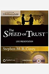 [ { THE SPEED OF TRUST: LIVE PRESENTATION } ] by Covey, Stephen M R (AUTHOR) Apr-01-2012 [ Compact Disc ] CD-ROM