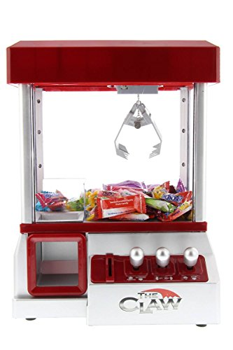 - Electronic Arcade Claw Machine Mini Candy Prize Dispenser Game With Sound