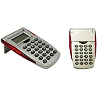 Impex CAL01 Flip Top Calculator (Bulk Pack Lot of 36pcs) (Classroom Set)