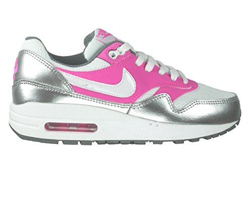Nike Air Max 1 (GS) Girls Running Shoes Cool Grey