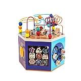 LIUFS-TOY Children's Toys Puzzle Development Men and Women Early Education Building Blocks Bead Box ( Size : M )