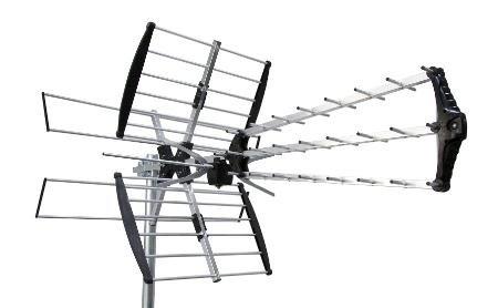 FRINGE YAGI ANTENNA UHF + VHF HIGH - HDTV